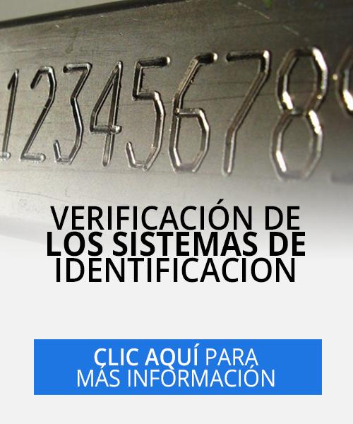 verificación de los sistemas de identificación en Cali